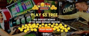 CoinFalls Mobile Casino no Deposit