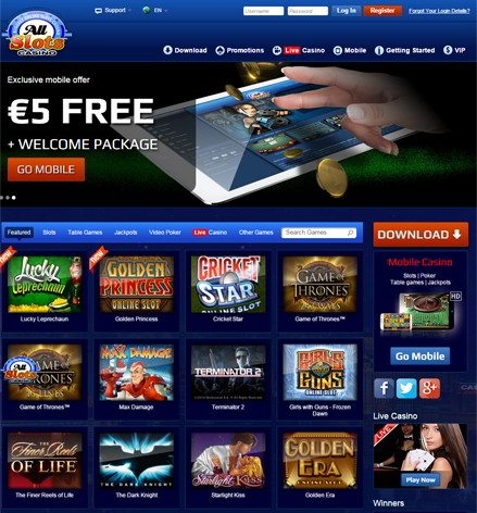 All slots casino 5 free expresscard 34 slot sd card reader