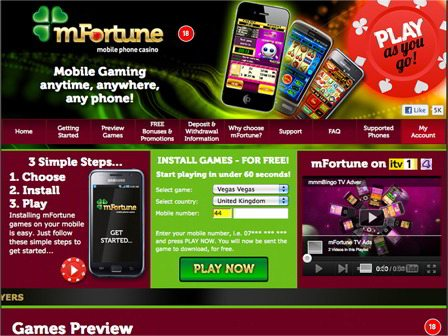 Deposit by UK Phone Casino