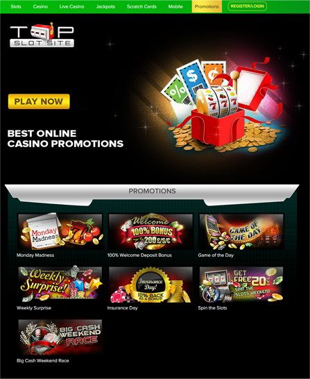 Best online casino promotion