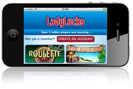Cash Back Offer at LadyLuck's Casino