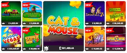 top UK slots games