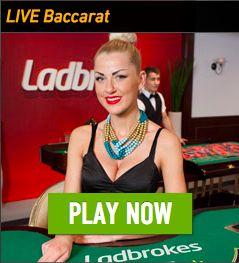 Ladbrokes Casino Live Dealer Baccarat