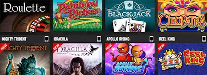 Ladbrokes Mobile Casino Slots Games