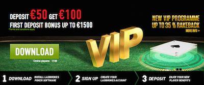 Ladbrokes Online Poker Deposit Bonus