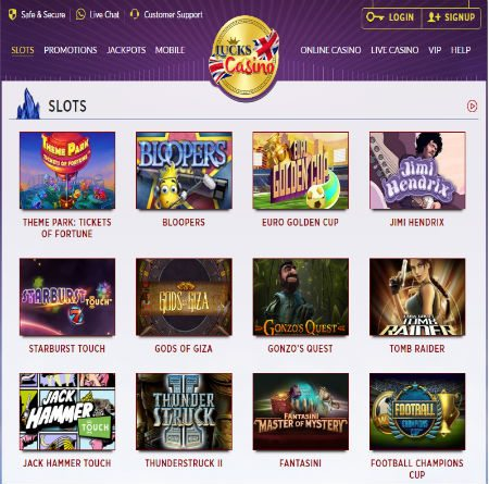 Baccarat Online Free at Lucks Casino