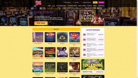 Play free casino no deposit win real money games